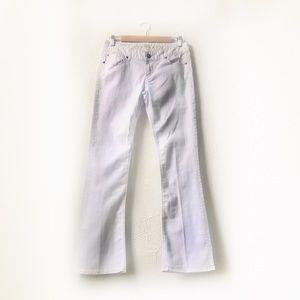 Express | White Bootcut Jeans Size 6r